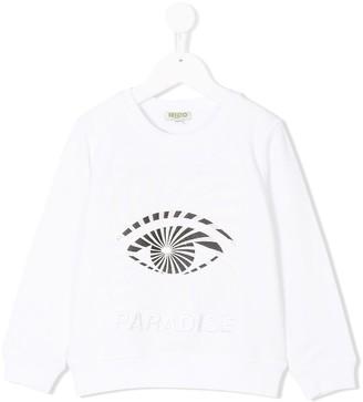 Kenzo Eye Motif Sweatshirt