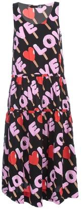 Love Moschino Long Dress W/s 3 Flounce