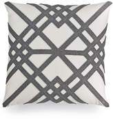 """Hotel Collection Modern Airbrush Geo 18"""" Square Decorative Pillow, Created for Macy's"""