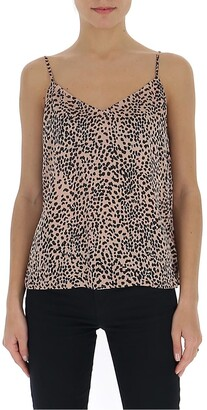 Equipment Leopard Print Camisole