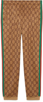 Gucci GG technical jersey track bottoms