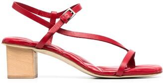Del Carlo Strapped Open-Toe Sandals
