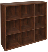 "ClosetMaid Decorative Storage 43"" Cube Unit Bookcase"