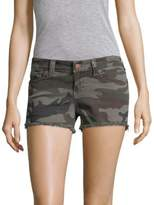 True Religion Keira Camo-Print Shorts