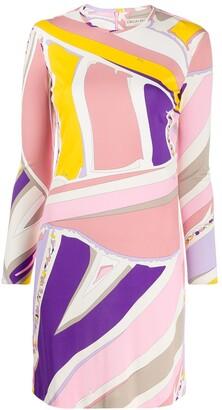 Emilio Pucci abstract print shift dress