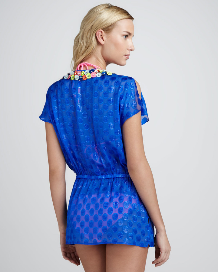 Milly Kehala Dotted Paillette Coverup