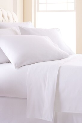SouthShore Fine Linens King Sized Vilano Springs Extra Deep Pocket Sheet Set - Bright White