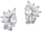 Kenneth Jay Lane Marquis Cluster Pear CZ Earrings