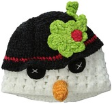 San Diego Hat Company Kids DL2530 Hand Crochet Snowman Hat (Infant/Toddler/Little Kids)
