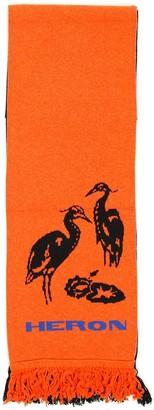 Heron Preston Bicolor Scarf