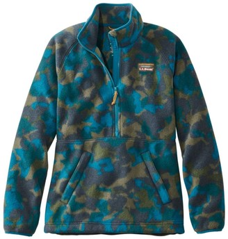 L.L. Bean Women's Mountain Classic Fleece Pullover, Print