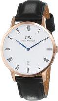Daniel Wellington Men's Dapper Sheffield 1101DW Rose Leather Quartz Watch