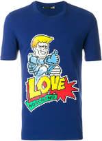 Love Moschino 8 bit logo T-shirt