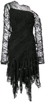 Zimmermann asymmetric lace dress