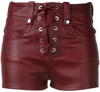 Manokhi lace front shorts