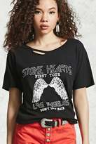 Forever 21 Stone Hearts Graphic Tee