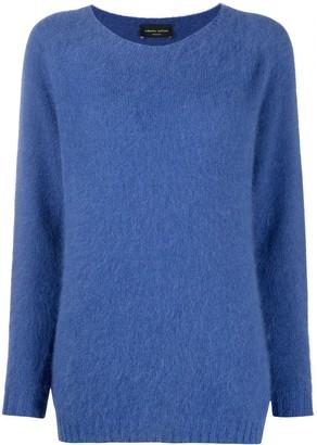 Roberto Collina Long-Sleeved Angora Knit Jumper