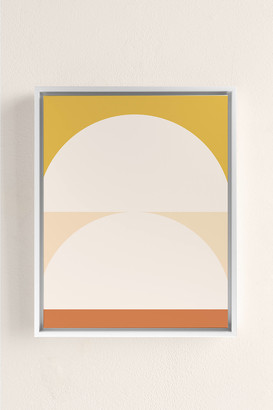 The Old Art Studio Abstract Geometric 01 Canvas Art Print