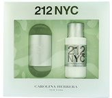Carolina Herrera 212 By For Women. Gift Set ( Eau De Toilette Spray 3.4-Ounce + Hydrating Body Lotion 6.75-Ounce )