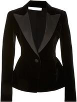 Oscar de la Renta Velvet Jacket