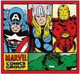 Marvel Comics Retro Shaped Rug