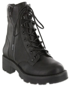 Mia Dean Combat Boots Women's Shoes