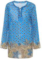 Tory Burch Jacinta Beach cotton top