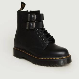 Dr. Martens Black Leather 1460 Alternative Ankle Boots - 36   leather   black - Black/Black