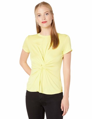 Kenneth Cole Women's Knotted Front TOP