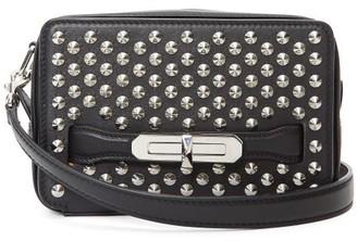 Alexander McQueen Studded Leather Camera Bag - Black