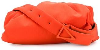 Bottega Veneta Ruched Detail Adjustable Strap Shoulder Bag