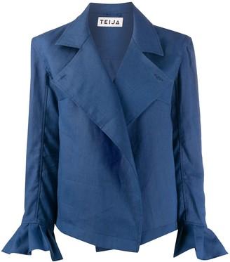 Teija Takki flared-cuff jacket