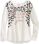 Epic Threads Wild About You Graphic Long-Sleeve T-Shirt, Big Girls (7-16), Created for Macy's