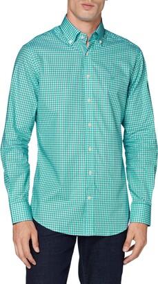 Hackett London Hackett Men's Summer Ging Hs Formal Shirt