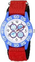 Marvel Kids' W002627 Avengers Analog Display Analog Quartz Red Watch