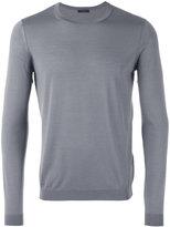Pal Zileri crewneck sweater - men - Wool/Silk - 48