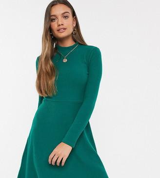 Y.A.S rib knitted mini dress