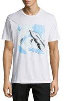 Rag & Bone Hawaiian Tropical-Print Graphic T-Shirt