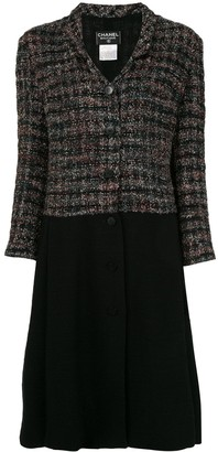 Chanel Pre Owned 1998 Long Sleeve Dress