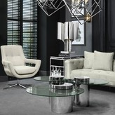 Eichholtz Equilibre Coffee Table Color: Silver