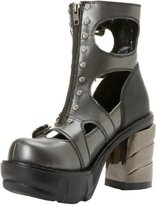Pleaser USA Women's Sinister 61 DGY B Ankle Boot