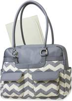 Baby Essentials Chevron Satchel Diaper Bag