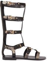 Ash Mykonos Studded Leather Sandals