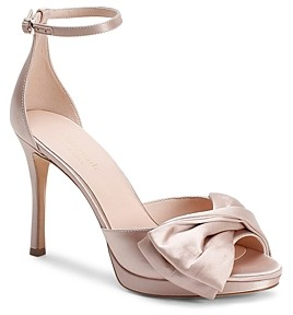 Kate Spade Women's Bridal Bow Strappy High-Heel Sandals