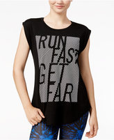 Energie Active Juniors' Alessia Mesh-Contrast T-Shirt