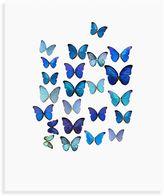 Bed Bath & Beyond Blue Butterflies I Wall Art