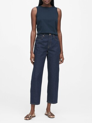 Banana Republic JAPAN EXCLUSIVE Mid-Rise Relaxed Straight Jean