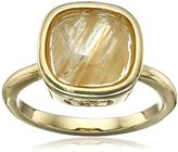 "Cole Haan Golden Lights"" Cushion Cut Ring, Size 7"