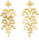 Mallarino Gabriella Leaf Earrings