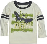 Burt's Bees Baby Can't Catch Me Tee (Baby) - Ivory-0-3 Months